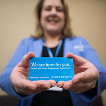 We are here for you: Englewood Health Patient and Family Engagement Department