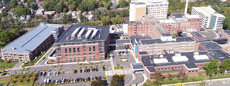 Englewood Hospital campus overview